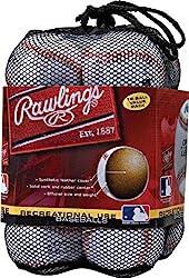 top rated Official Leisure Rawlings OLB3BAG12 Baseball, 12 Piece Bag 2021