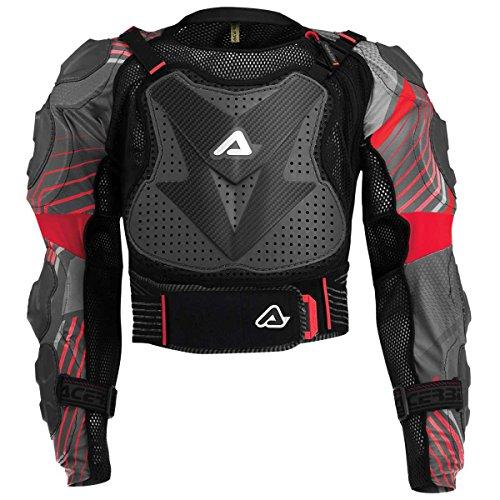 Acerbis Scudo 2.0 Protektorenjacke, Farbe schwarz-rot, Größe L/XL