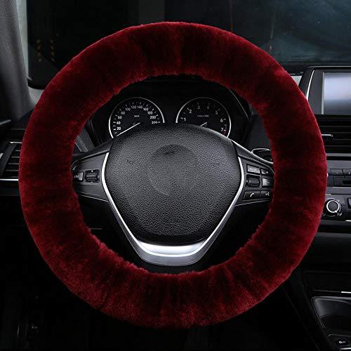 Stuurhoes van pure wol, warme winterlaarzen, korte pluche, stuurhoes van wol en leer A2.
