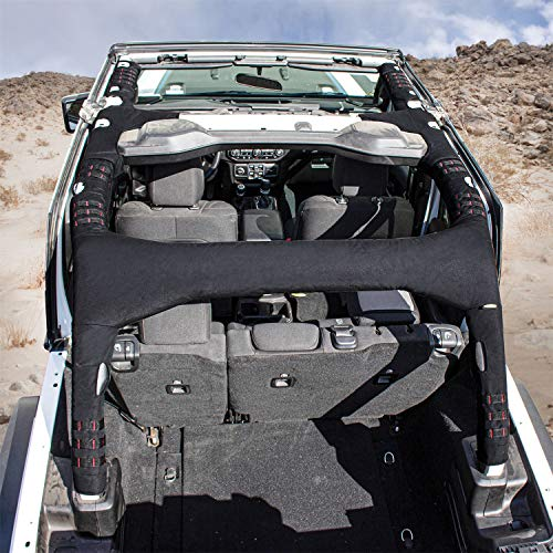 Smittybilt 5667201 MOLLE Sport Bar Cover Kit for Jeep JL 4-Door