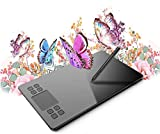 VEIKK Graphics Drawing Tablet A50 Digital Drawing Tablet 10x6 Inches Art Tablets With