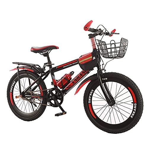 CHHD Bicicletta per Bambini per Ragazzi o Ragazze da 8 Anni in su Bicicletta da Mountain Bike 18,20,22,24 Pollici da Uomo