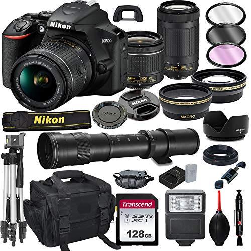 Nikon D3500 DSLR Camera with 18-...