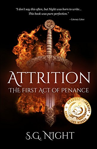 Book: Attrition - the First Act of Penance (The Three Acts of Penance) by S.G. Night