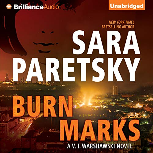 Burn Marks audiobook cover art