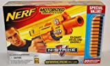 Nerf N-Strike Barricade RV-10 Motorized Semi-Auto Blaster with 30 Whistle Darts