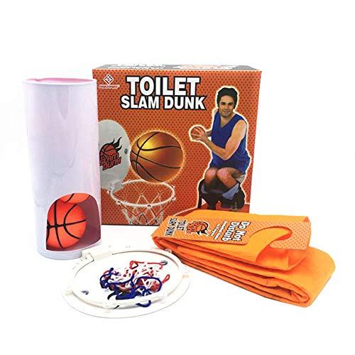 alpscale Toiletten-Basketball-Sets für Erwachsene, Kinder, Spielzeug, Sport, Indoor-Training, Badezimmer, Jungen, Spielzeug, lustige Spiele, Party-Geschenk, a
