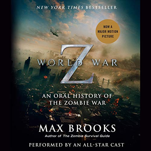 World War Z: The Complete Edition (Movie Tie-in Edition)     An Oral History of the Zombie War              Auteur(s):                                                                                                                                 Max Brooks                               Narrateur(s):                                                                                                                                 Max Brooks,                                                                                        Alan Alda,                                                                                        John Turturro,                   Autres                 Durée: 12 h et 9 min     235 évaluations     Au global 4,8