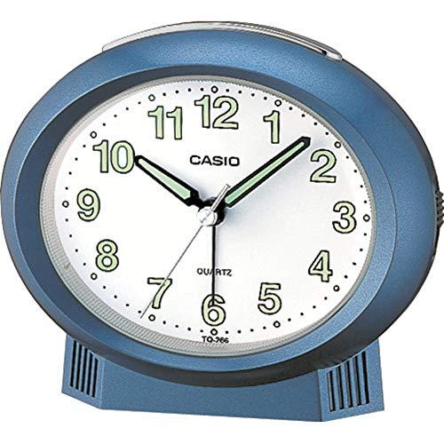 Casio Collection Despertador electrónico, Resina, Azul, 103,00 mm x 120,00 mm x 62,00 mm
