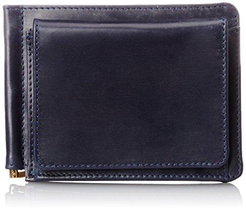 [グレンロイヤル] コインポケット付きマネークリップ MONEY CLIP WITH POCKET メンズ ダークブルー