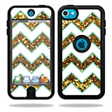 MightySkins Skin Compatible with OtterBox Defender iPod Touch 5G Case wrap Cover Sticker Skins Glitter Chevron