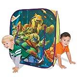 Product Image of the Playhut Teenage Mutant Ninja Turtles Hide N Play Playhouse, Green