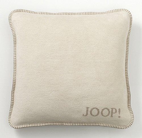 """Joop! Kissenhülle """"Uni-Doubleface"""" beige Größe 50x50 cm"""