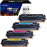GPC Image Compatible Toner Cartridge Replacement for HP 201X 201A for HP Color LaserJet Pro MFP M277dw Pro...