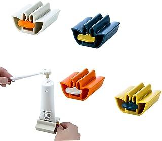 Accessorio da Bagno per dentifricio spremiagrumi per Il Viso GOTRGEOOUS Supporto per spremiagrumi per Tubo dentifricio Bianco da 2 Pezzi erogatore Easy Squeeze S Crema per Le Mani e Altro