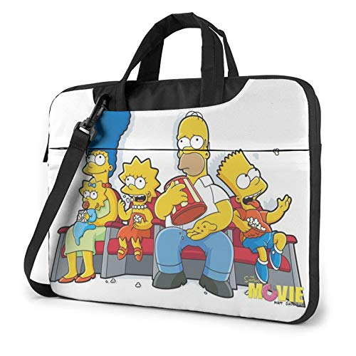 S_Impsons Laptop Sleeve Bag Case 13 inch Notebook Sleeve Case Portable Briefcase