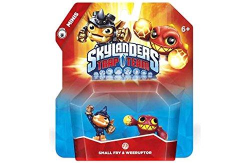 Skylanders Mini-Trap-Team Doppel - kleine Fische & Weeruptor.