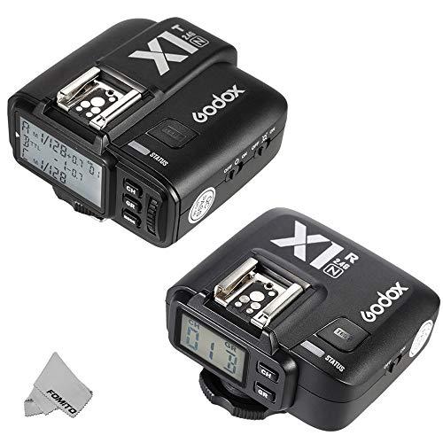 Fomito Godox X1-N TTL 2.4GHz Wireless Radio Flash Trigger X System for Nikon D810 D800E D7200 D5500 D5100 Cameras, SB910 SB900 SB700 Flashes
