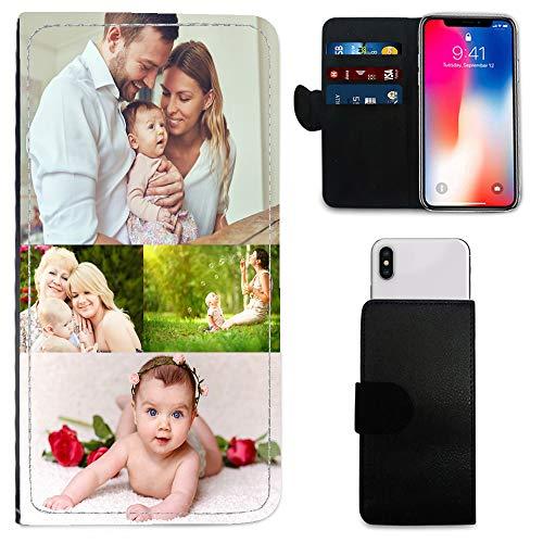 i-Tronixs Schutzhülle/Brieftaschen-Hülle für Mobiltelefone (15,2 cm / 15,2 cm), personalisierbar, mit Foto & Chrom-Schlüsselanhänger, Bluboo D5 Pro (5.5