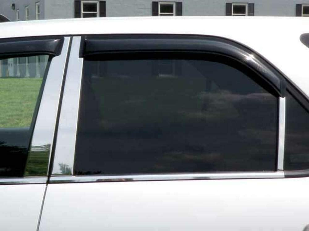 QAA fits 2001-2006 Acura MDX 6 Post Piece Pillar Max 86% OFF Stainless Sacramento Mall Trim