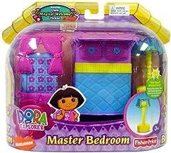 Fisher-Price Dora Designer Dollhouse Furniture Master Bedroom Set