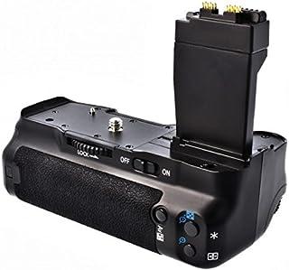Meike - Empuñadura de batería para cámara de fotos Canon EOS 550D 600D y 650D similar a batería BG-E8 para 1 o 2 baterías LP-E8 o 6 pilas AA