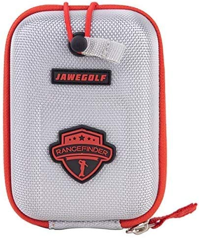 JAWEGOLF Telémetro de golf con funda rígida, maletín rígido, riñonera, bolsa, embrague, caja de almacenamiento, bolsa de almacenamiento