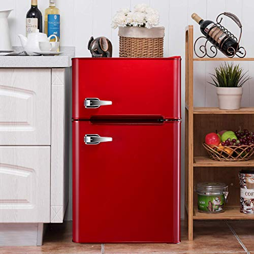 cute red mini fridge for sale