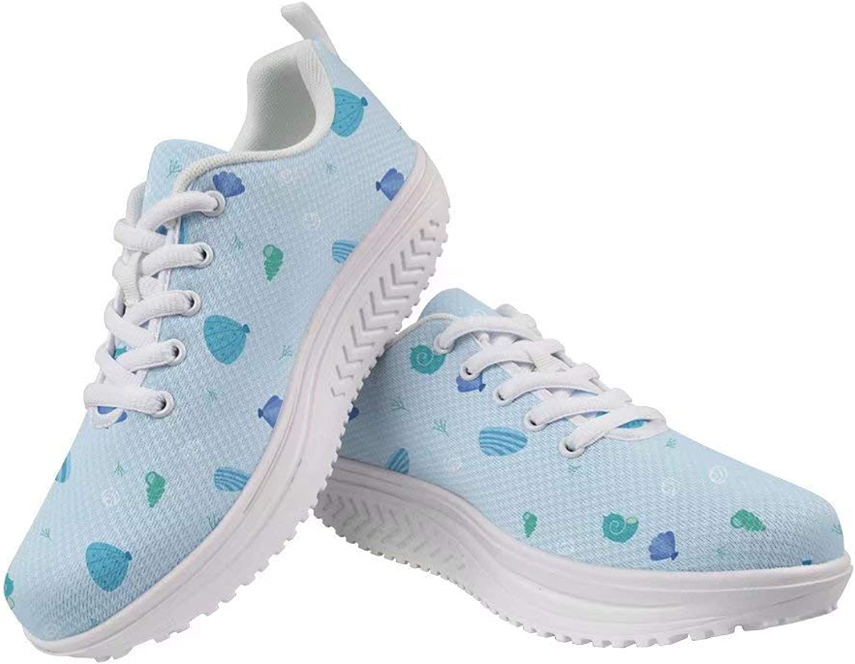 Spring Warner Personalized Print Casual shoes Food Fruit Fish Pattern Walking shoes Flexible Lightweight Sneakers ERU36-41 for Women