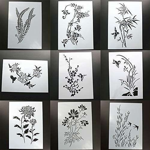 Carta e lavorazione della carta stencil