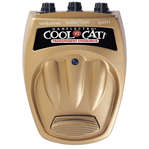 Danelectro Cool Cat CTO-2 transparent Overdrive V2 Effektpedal