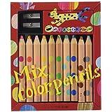 コクヨ 色鉛筆 ミックス色鉛筆 10本 KE-AC1