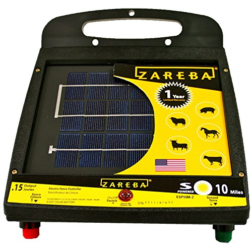 Zareba ESP10M-Z 10-Mile Solar Low Impedance...