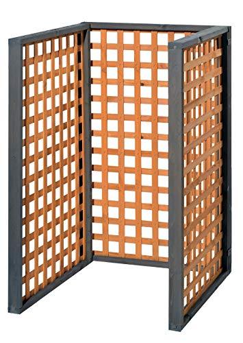 Erweiterungselement für Holz Mülltonnenbox Zell - 2