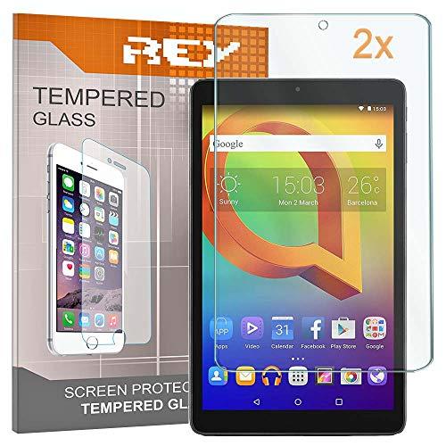 2X Protector de Pantalla para ALCATEL PIXI 3 10', Cristal Vidrio Templado Premium, Táblet