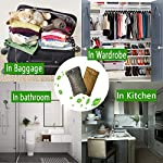 wyewye Activated Bamboo Charcoal Bags for Car Closet Shoe Home Basement 15Packs×100g 10 【GREAT VALUE PACK】Charcoal bags value pack provides 1.5kg of Activated charcoal. Each bag provides more absorbency than the standard 50g bags. Packed in a sealed linen bag with a ring on top for easy hanging on a hanger or hook. Sufficient size for cars, closets and other closed areas 【SUITABLE FOR FAMILIES】 Charcoal bags are made from environmentally friendly micro-porous activated bamboo charcoal, contains millions of tiny porous holes that can create a healthy atmosphere in your home. 【RECYCLABLE WITHOUT WASTE】These charcoal bags are reusable for 2 years! When this charcoal bag is saturated, in order to rejuvenate the bamboo charcoal bag, you need to place the charcoal bag outside in the sun once a month for at least two hours. You can reuse these charcoal bags without waste.