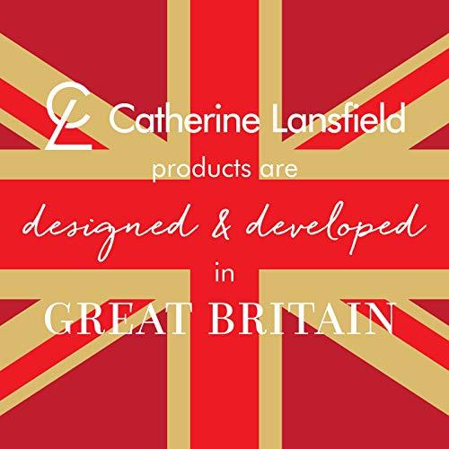 Catherine Lansfield - Set coordinato con copri-piumino e federe, per letto matrimoniale, dimensioni 200 x 200 cm + 2 federe 50 x 75 cm, 60% percalle di cotone e 40% poliestere.
