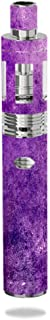Decal Sticker Skin WRAP Shades of Purple Abstract Art for Eleaf iJust 2