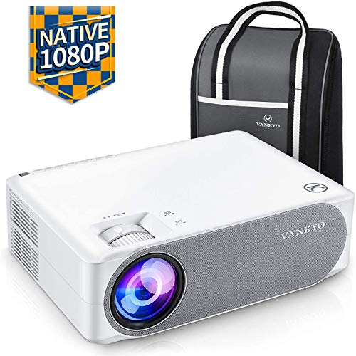 VANKYO Performance V630 Native 1080P Full HD Projector 300quot LED Projector w/ ±45° Electronic Keystone Correction Compatible w/ TV Stick HDMI Laptop Smartphone for Home/Business Use