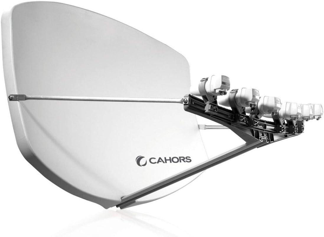 BIG BI-SAT MULTI-FEED antena