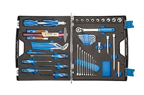 GEDORE 1000 Werkzeugkoffer mit Sortiment Touring 49-TLG