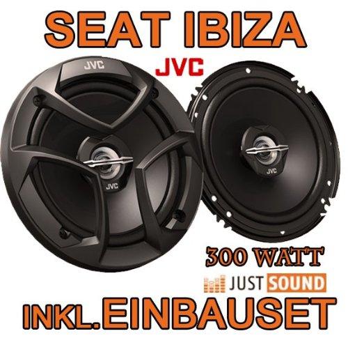 Lautsprecher - JVC CS-J620-16cm Koaxe für Seat Ibiza 6L - JUST SOUND best choice for caraudio