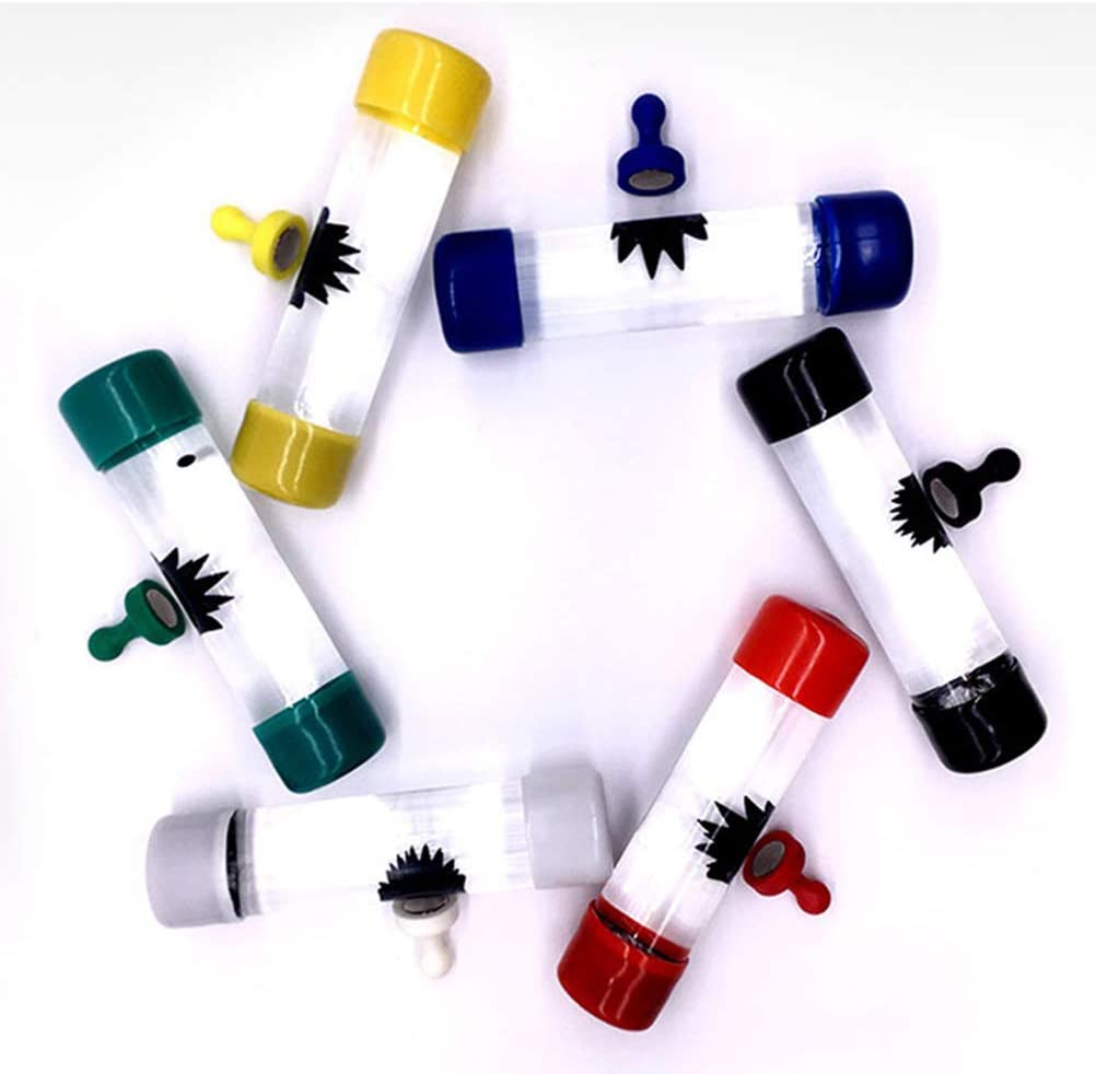 Divertido Juguete ferrofluido para aliviar el estr/és Juguete cient/ífico de descompresi/ón antiestr/és Nuevo BST/&BAO Ferrofluido l/íquido l/íquido magn/ético