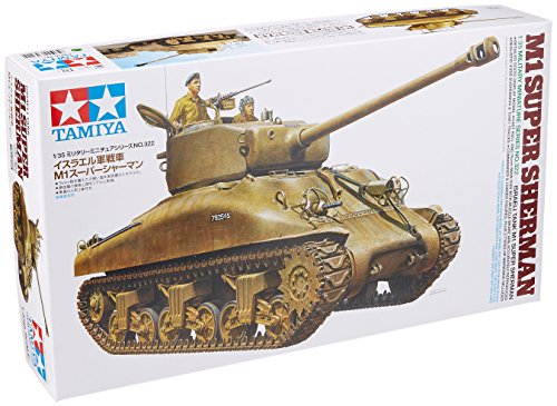 The Hobby Company Tamiya 300035322 - Carro Armato M1 Super Sherman (Israele), Scala 1:35