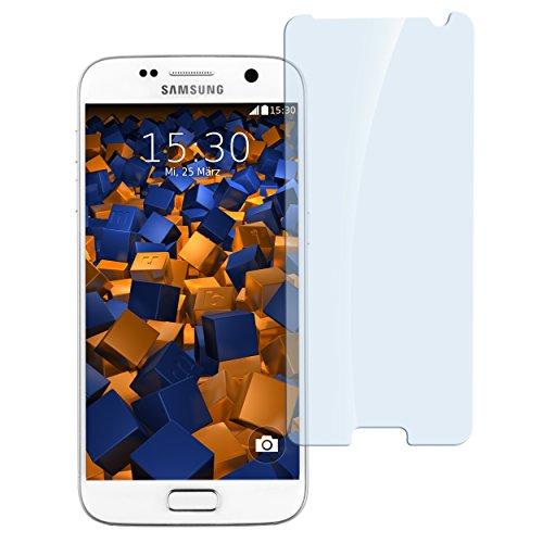 mumbi Hart Glas Folie kompatibel mit Samsung Galaxy S7 Panzerfolie, Schutzfolie Schutzglas (1x)