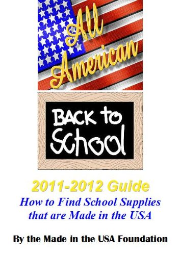 All American Back to School 2011-2012 Guide