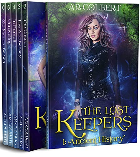 The Lost Keepers: Books 1-6 Box Set (English Edition)