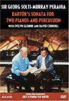 Solti & Perahia: Bartok's Sonata for Two Pianos [DVD] [Import]