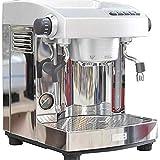 JGSDHIEU Máquina de café exprés Semi automática Máquina de café de 15 Barras Control Tipo de...