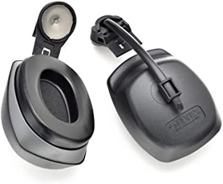 Elvex Quicksnap Cap Mount Ear Muffs Hm-2029 Medium Profile With Exclusive Cut-Out Design To Fit Under Safety Caps (Pair) - HM-20